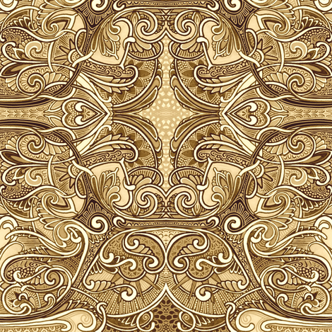 Not Without My Coffee fabric by edsel2084 on Spoonflower - custom fabric
