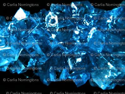Sapphire Geodes