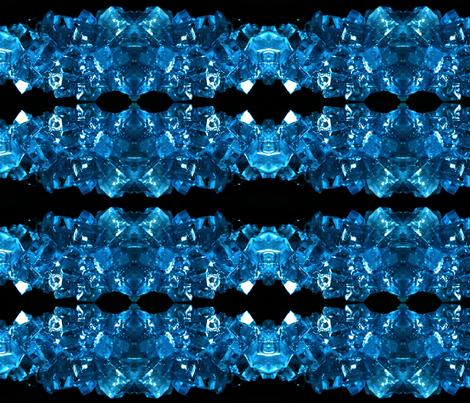 Sapphire Geodes fabric by akuma2636 on Spoonflower - custom fabric