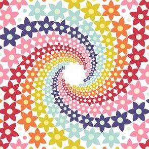 02872793 : mandala 12~ : spring floral swirls