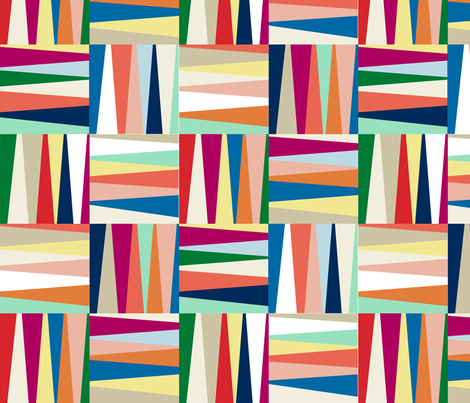 funky squares fabric by amybethunephotography on Spoonflower - custom fabric