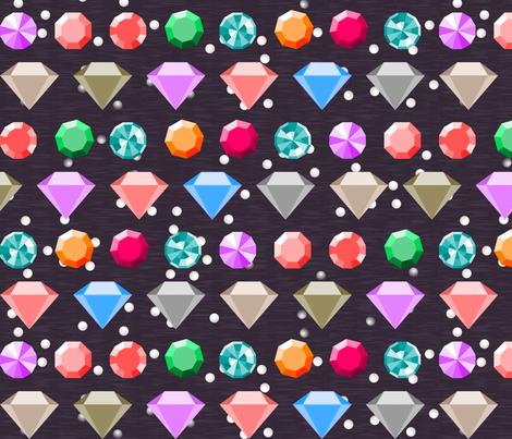Jewels Box fabric by mrshervi on Spoonflower - custom fabric