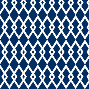 Medium Navy Diamond