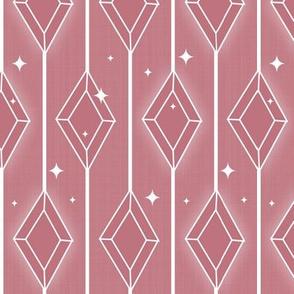 Sparkling Diamonds - Pink
