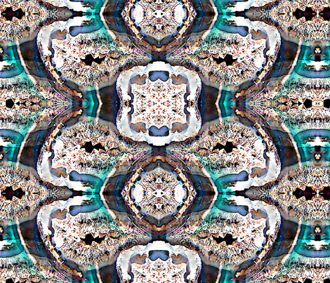 3D Geodes fabric by mugglz on Spoonflower - custom fabric