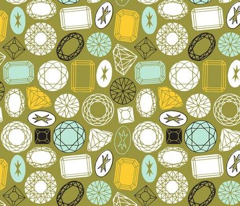 Sparkle and Shine fabric by nadiahassan on Spoonflower - custom fabric