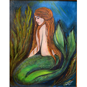 serene mermaid