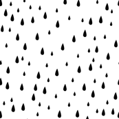 Drops - Black & White