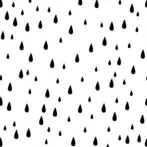 Drops - Black & White