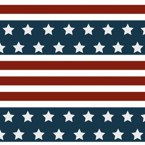 American Flag Stripes