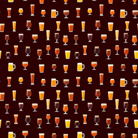 cheers fabric by mcclept on Spoonflower - custom fabric