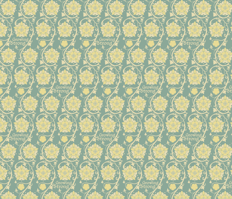 Growing strong - Colorway 01 fabric by aliceelettrica on Spoonflower - custom fabric