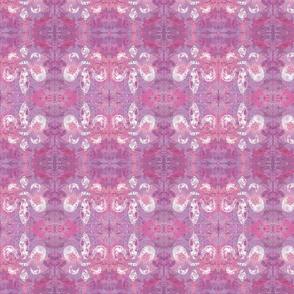 Fleur de lis Lilac Pink