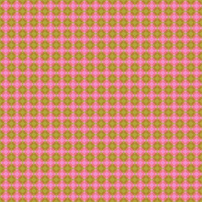 Pink and Green Squared