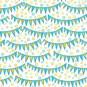 Bunting & Bubbles - Noon