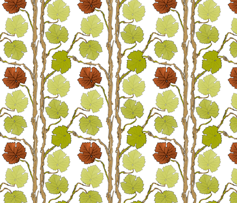 grape-stripes2k fabric by wren_leyland on Spoonflower - custom fabric