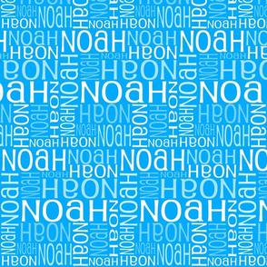 Personalised Name Design - Robot Blue