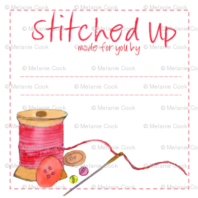 Fabric Label Pink - swatch kit
