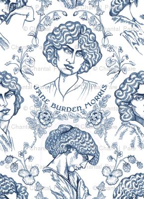 Jane Burden Morris Navy