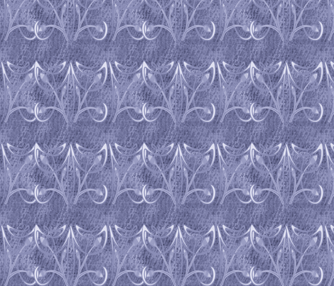 BLUE FLOURISH fabric by bluevelvet on Spoonflower - custom fabric