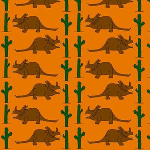 Dino v cactus