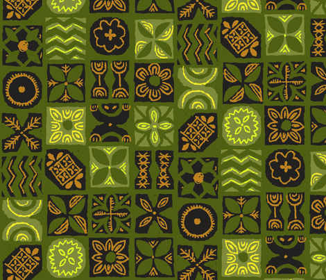 UA Tapa 1g fabric by muhlenkott on Spoonflower - custom fabric