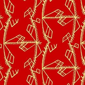 Red Volhynian Pattern