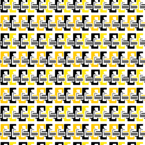 bees fabric by mcclept on Spoonflower - custom fabric
