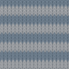 Shades of Blue Chevron