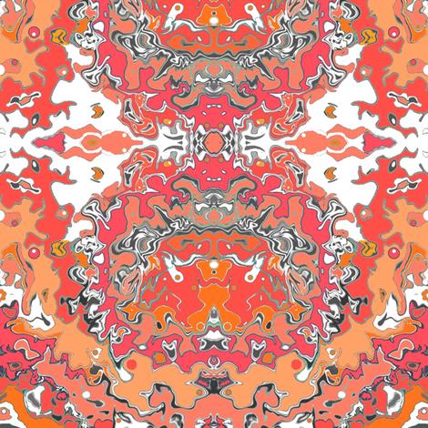 sunkist fabric by kristinrose on Spoonflower - custom fabric