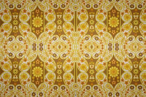 Retro curtains fabric by snork on Spoonflower - custom fabric