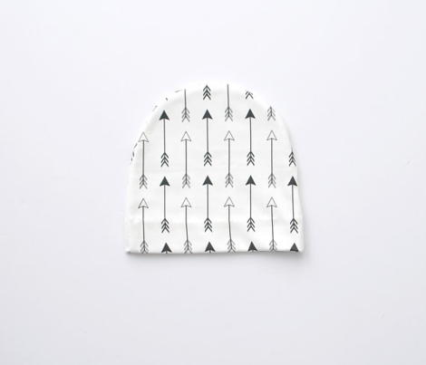 Arrows Black and White Vertical