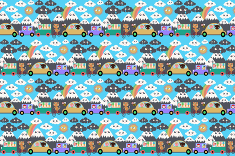 driving fabric by heidikenney on Spoonflower - custom fabric