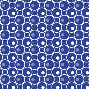 Circle and a Dot - Blue