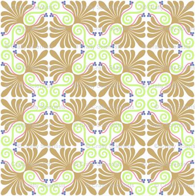 Palmette inverted