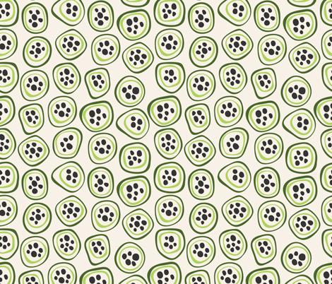 Kiwi fabric by valendji on Spoonflower - custom fabric
