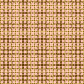 Peach and Avocado in Lilliput: Tablecloth Print