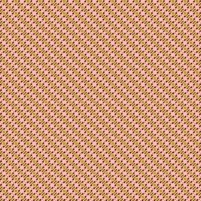 Peach and Avocado in Lilliput: Delicate Diagonal