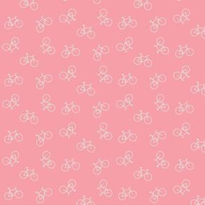 Raining Bikes in Pink