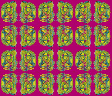 Sheen Bougainvillea fabric by albanianflower on Spoonflower - custom fabric