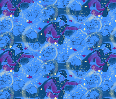 Dreamtime fabric by vinpauld on Spoonflower - custom fabric