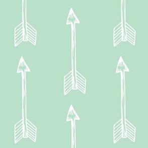 Shooting Arrows on Mint