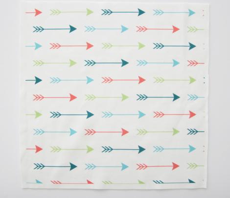 Colourful Arrows Horizontal