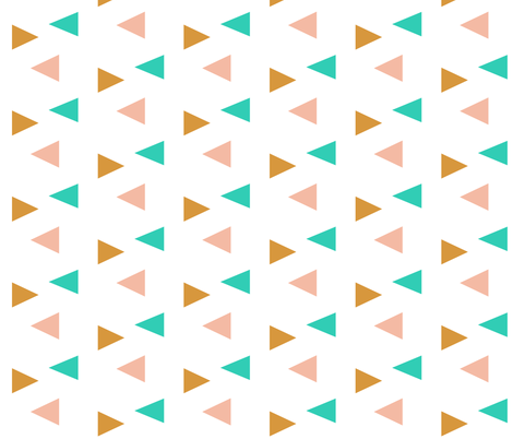 triangles fabric by ajoyfulriot on Spoonflower - custom fabric