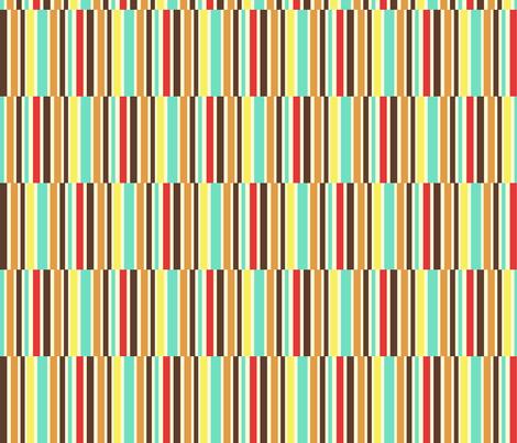 Nyo stripes fabric by ellila on Spoonflower - custom fabric