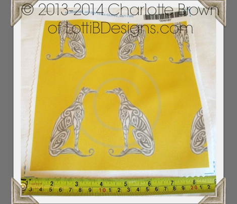 Greyhounds - Seeing Double - Bold Yellow