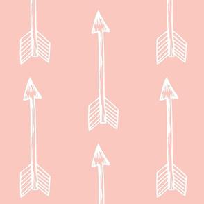 shooting arrows blush