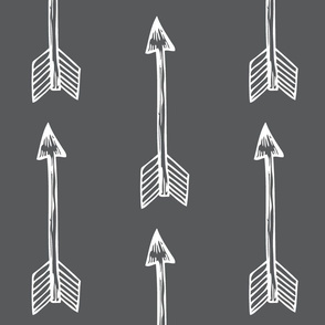 Shooting Arrows Charcoal