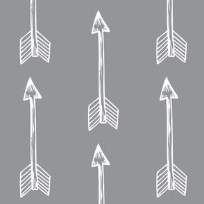 Shooting Arrows Grey
