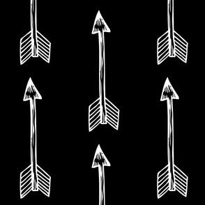 Shooting Arrows Black